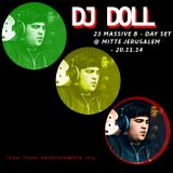 DJ DoLL - 23 MASSIVE B - DAY SET @ MITTE JERUSALEM - 20.11.14