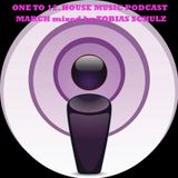 ONE TO 12. HOUSE MUSIC PODCAST MARCH 2013 - MIXED BY TOBIAS SCHULZ