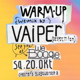 WEBOOGIE Warm-Up || October 2012 || Vaiper Despotin