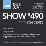 DUB:fuse Show #490 (August 11, 2012)