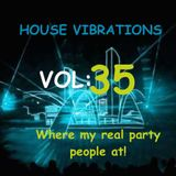 HOUSE VIBRATIONS VOL 35 THE REAL PARTY
