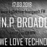 Artin.P Broadcast 17.03.2018 Artin.P Live in the Mix 180Min
