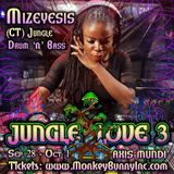 Mizeyesis live @ Jungle Love 3: Axis Mundi - 9.28.18 - Minnesota, USA