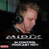 MIDIX Nov 14 Podcast In Control