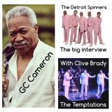 GC Cameron From Detroit Spinners & The Temptations Interview with Clive Brady