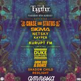 2016.08.09 - Amine Edge & DANCE @ Together - Amnesia, Ibiza, SP