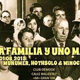 PEDRO MUÑUMER - CLUB DEMODE. MADRID 01-08-2015