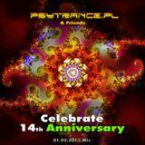Psytrance.pl 14th Anniversary Mix - Part 1 - Primal b2b Proxima Centauri