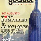 Tony Humphries & jojoflores Live at Peopl Montreal