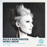 Mica's Manchester Music Show, Halloween Rock Special 31st October 2016