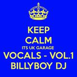 UK GARAGE VOCALS - VOL1 - Billyboy Dj