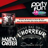 "Da Sylva mashup ""Hey Ho Calcutta"" supported by Maeva Carter @ Le Bal de l'Horreur on Fun Radio"