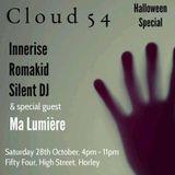 Silent DJ Set # 1 - Cloud 54  - 28/10/17 @ Fifty Four, Horley