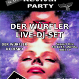 DER WÜRFLER Live-DJ-Set@WALFISCH Revival Party (11.07.2014)