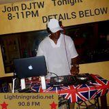 DJTW | 7.9.17 | LightningFM Radio Show [THE RETURN SHOW]