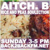 Sunday 30/4/17 Rice & Peas Selection