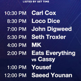SAEED YOUNAN LIVE AT ULTRA MIAMI 2015 - CARL COX & FRIENDS STAGE