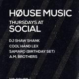 Live At Social, Samaro's Birthday Edition