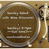 Sunday Rehab 40 - Mike Granacki - HouseBeat Radio - 17012016