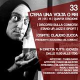 """Stagione 4. Puntata 33. """"DISCORSI SULLA COMICITA"""" CON CLAUDIO ZUCCA [DIRETTORE ACCADEMIA DEL COMICO]"""