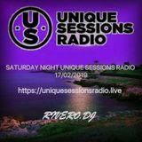 SATURDAY NIGHT UNIQUE SESSIONS RADIO 17/02/2019