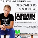Dedicated To! Sessions #8 - ARMIN VAN BUUREN - by Cristian Gabriel (18.02.2013)