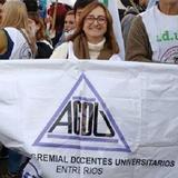 Entrevista a Patricia Riobó, secretaria general de la Asociación de Docentes Universitarios de E.R