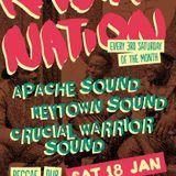 Crucial Warrior Sound @ Rasta Nation #43 (Jan 2014) part 4/7