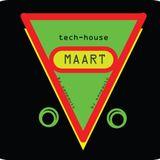 tech-house mix begin maart.