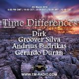 Dirk - Host Mix - Time Differences 304 (4th March 2018) on TM Radio