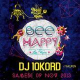 Dj 10kord - Mix @ Bee Happy #4 (9/11/2013)