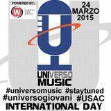 UNIVERSO MUSIC @ INTERNATIONAL DAY UNITUS 24/03/2015 - BY UNIVERSO GIOVANI