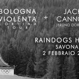 BOLOGNA VIOLENTA + JACK CANNON ( BRUNO DORELLA ) LIVE @ RADIO SKYLAB - LA CIMICE