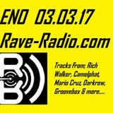 ENO - live on Rave-Radio.com Friday 03 March 2017