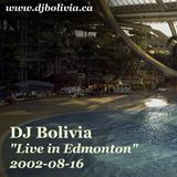 DJ Bolivia - Live in Edmonton