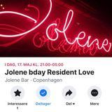Jolene Bar Bday Resident Love May 17th 2019