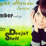 Night House Emission September  vol. 51 Mixed by DeejaY Steff ( DutshHouse,ElectroHouse ).13.09.2015