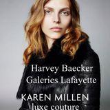 Galeries Lafayette Karen Millen Luxe couture set