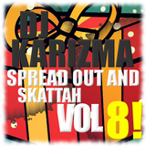 DJ KARIZMA - SPREAD OUT AND SKATTAH VOL 8! (CHRISTMAS 2013 D&B MIX)