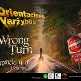 """Wrong Turn"" Orientacinės varžybos by (Eiven Energy)"