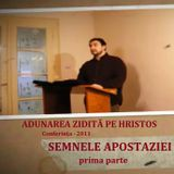 Semnele apostaziei - prima parte