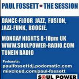 The Session - with Paul Fossett 141215 - Monday nights 8pm UK on www.soulpower-radio.com