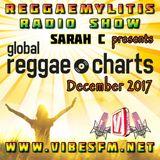 Reggaemylitis Radio Show ft December 2017 Global Reggae Chart