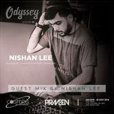 ODYSSEY #05 guest mix by Nishan Lee ( SL ) on Cosmos Radio - Germany (22 NOV 2018)