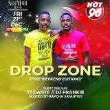 DJ FRANKIE KENYA - THE DROP ZONE REGGAE MIX (HOT 96)