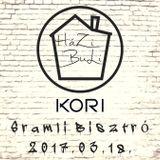 Kori live @ HáZiBuLi, Sramli Bisztró_2017.03.18.