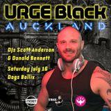URGE BLACK - Auckland New Zealand 16.07.2016 - Scott Anderson