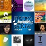 DEEPINSIDE RADIO SHOW 075 (Demarkus Lewis Artist of the week)