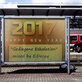 """Gediegene Eskalation"" mixed by E.Decay_NYE 2017"