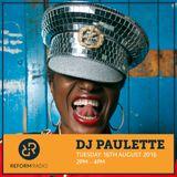 DJ Paulette 16th August 2016
